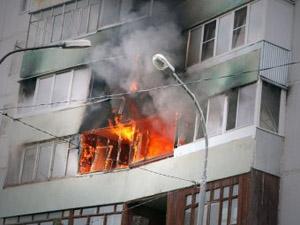 Поведение при пожаре в здании