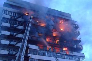 действия при пожаре в доме