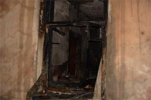 возгорание в квартире