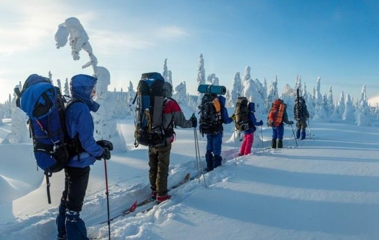 Разработка маршрута в лыжном путешествии