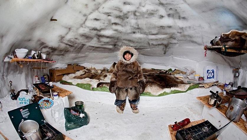 Иглу эскимосов