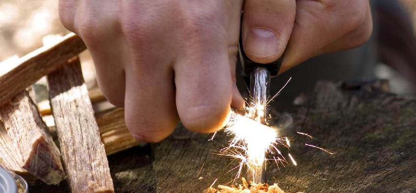 Способы развести огонь без спичек и зажигалки